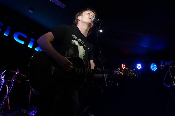 Stevie Jones at the Musician, 31st August 2016. Photo: Trevor Cobbe