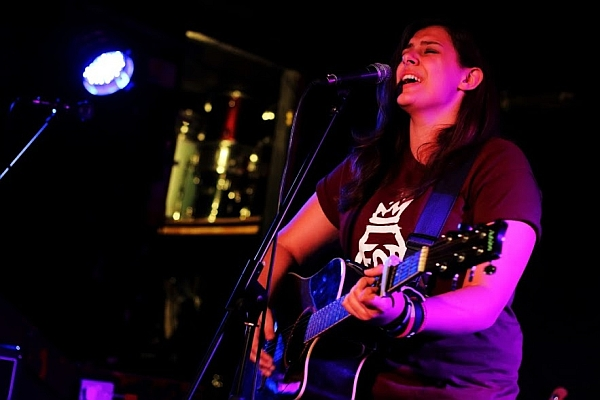 Becky Woolman at The Shed, 16th September 2016. Photo: Kevin Gaughan.