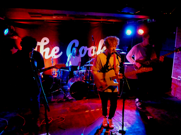 Alligatr at the Cookie. 14th Oct 2016. Photo: Keith Jobey.