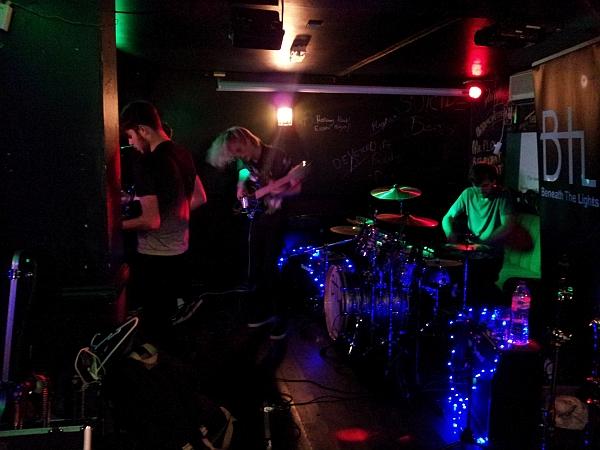 Beneath The Lights at Duffys Bar, 7th October 2016.