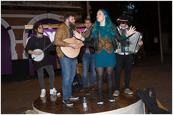 The Whiskey Rebellion at Oxjam Festival 2016. Photo © Pascal Pereira Photography. No Reproduction or Manipulation Without Prior Permission.