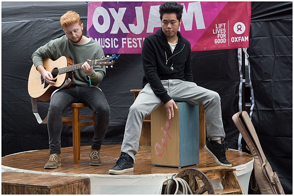 Jack Cahill at Oxjam Festival 2016. Photo © Pascal Pereira Photography. No Reproduction or Manipulation Without Prior Permission.