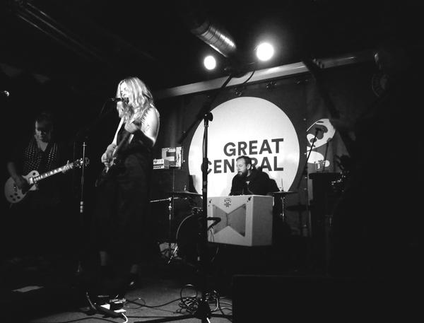 Courtney Askey - White Noise Christmas 2016. Firebug. Photo: Keith Jobey.