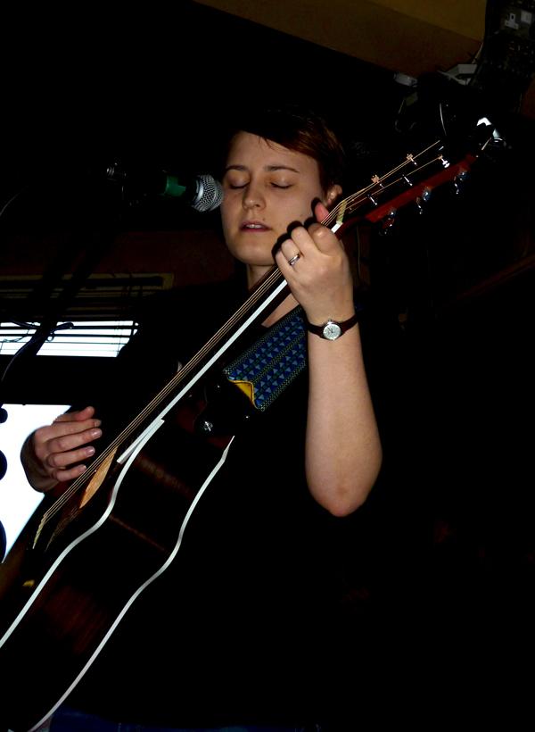 Elizabeth Cornish - White Noise Christmas 2016. Firebug. Photo: Keith Jobey.