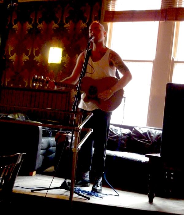 Luke Broughton - White Noise Christmas 2016. Firebug. Photo: Keith Jobey.