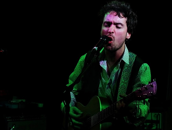 Freddie Webber at the Soundhouse, 4th November 2016. Photo: Kevin Gaughan.