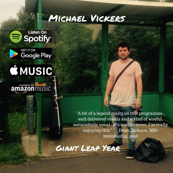 Michael Vickers 'Giant Leap Year' EP, November 2016