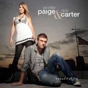 Jennifer Paige and Nick Carter