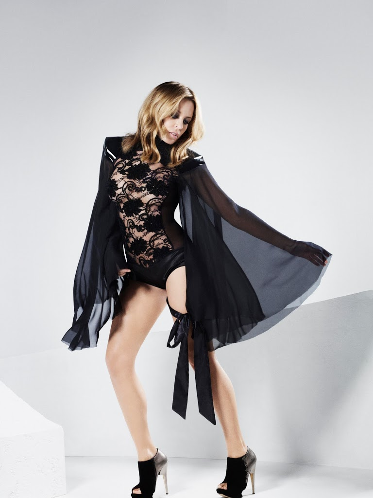 Kylie Minogue  Looking Flawless in new Aphrodite Photos