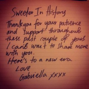 Gabriella Cilmi | Note