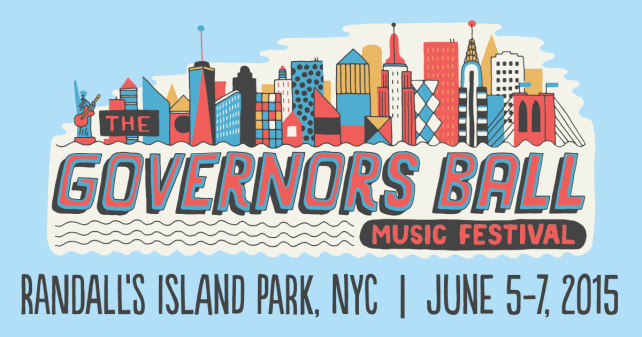 The Governor's Ball 2015 Schedule was announced and I need some assistance