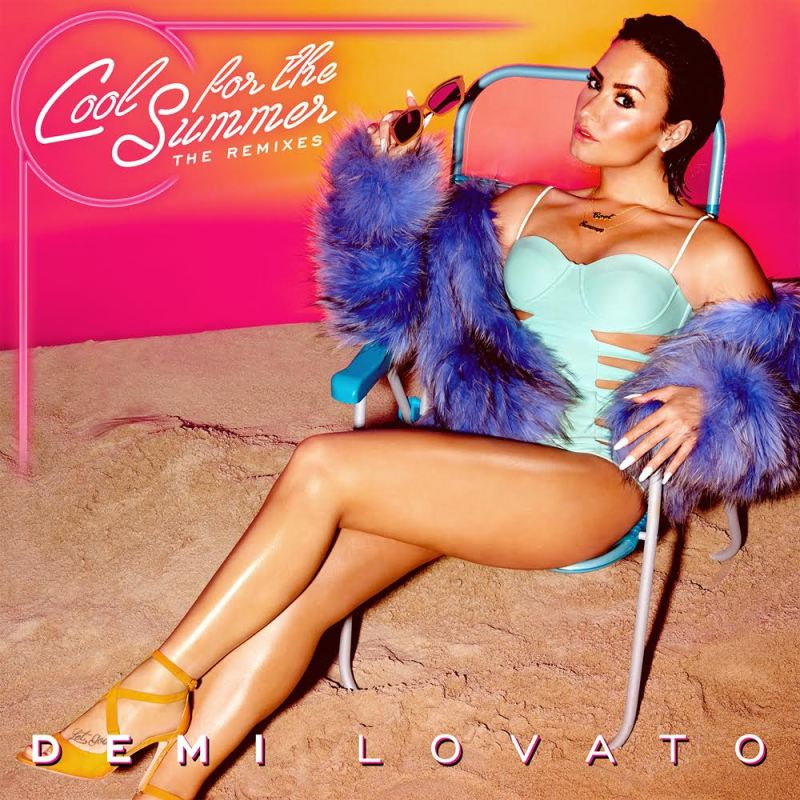 "I'm giving away ""Cool For The Summer"" remix CDs by Demi Lovato! Enter to win!"