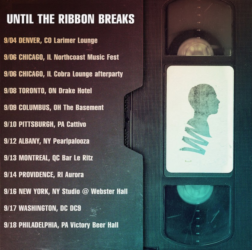 Be sure and check out British trio, Until The Ribbon Breaks when they hit the road, starting tonight in Denver, and concluding in Philly on September 18th.