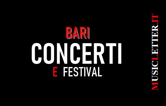 Concerti e festival a Bari