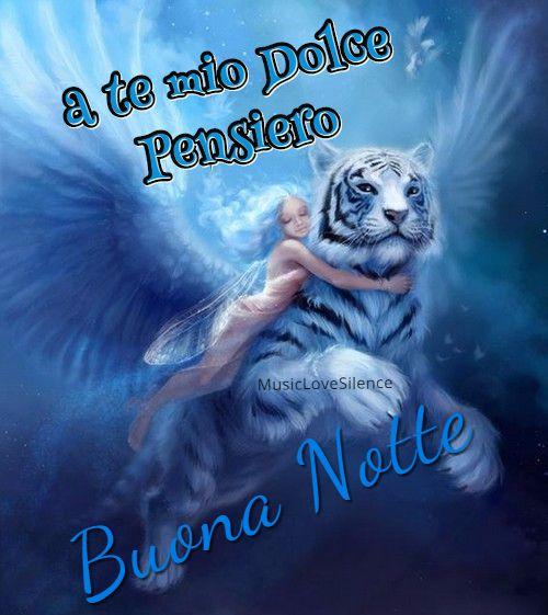 A Te Mio Dolce Pensiero Buona Notte Musiclovesilence