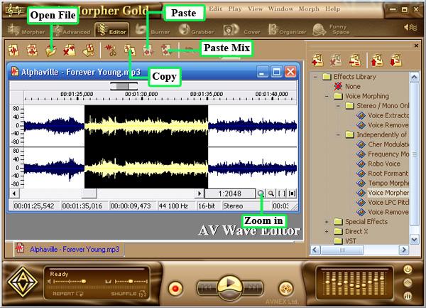 البرنامج الرائع لفصل الصوت عن الموسيقى