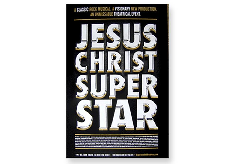 jesus christ superstar broadway poster