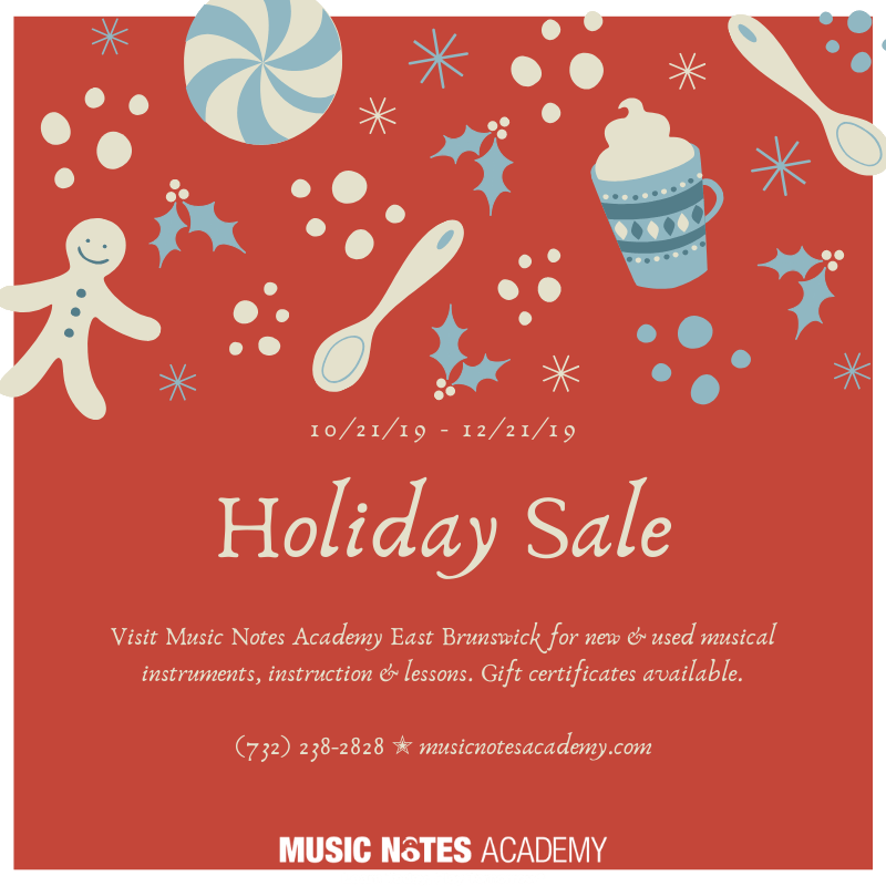 Music Notes Holiday Sale
