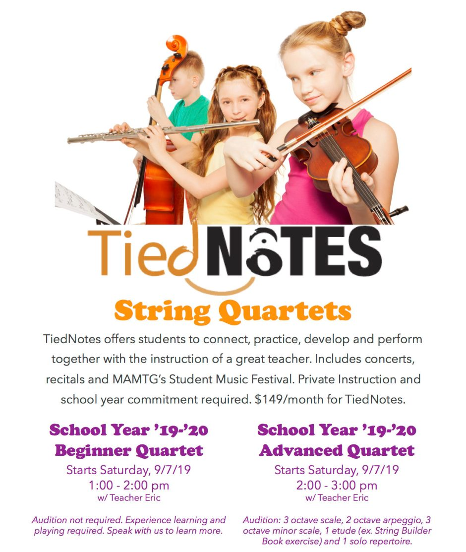Student Youth String Quartets, East Brunswick, NJ