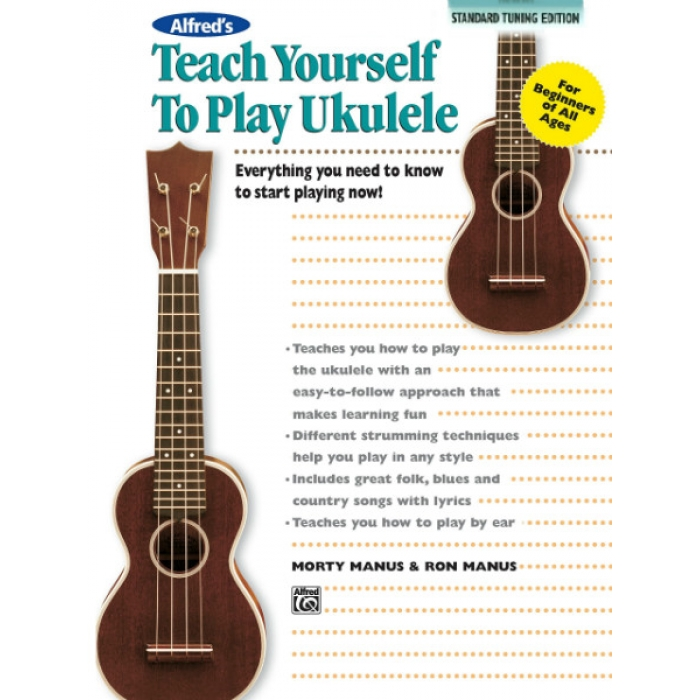 Alfred's Teach Yourself to Play Ukulele (Standard Tuning ...