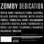 Zomby – Dedication