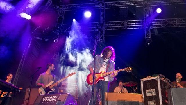 The War On Drugs, live at Primavera Sound (Photo: Santi Periel)