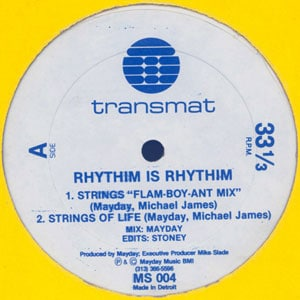 Rhythim Is Rhythim - Strings Of Life
