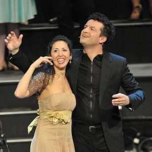 Mariana Flores & Krystian Adam(Photo: Chris Christodoulou)