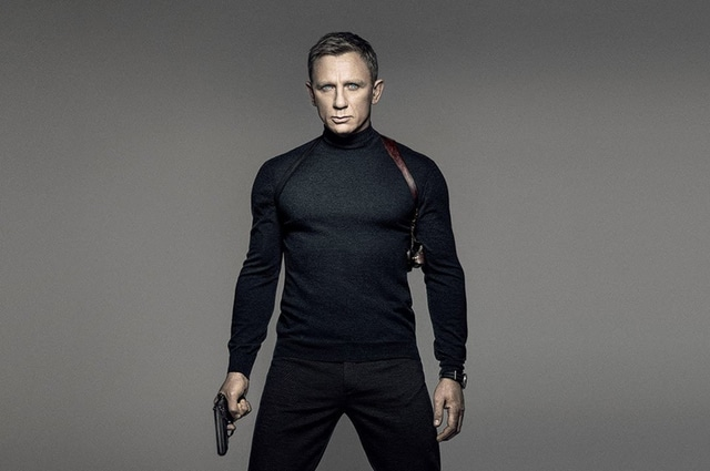 Daniel Craig as James Bond 007 in Spectre