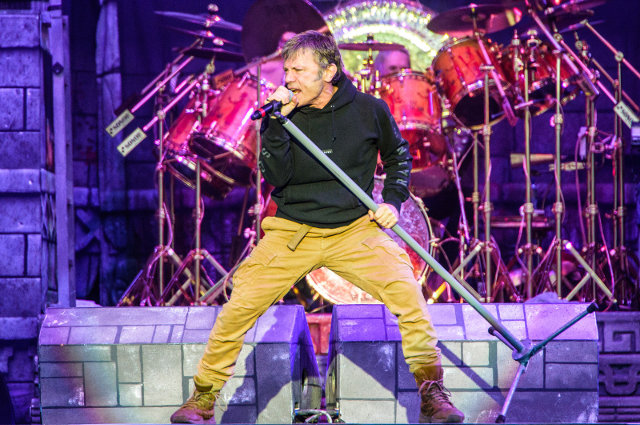 Iron Maiden at Download 2016