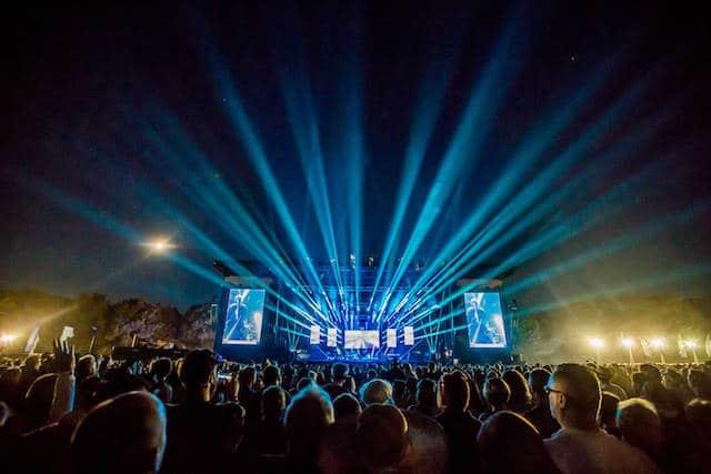 New Order, live at Latitude 2016 (Photo: Victor Jen O'Neill)