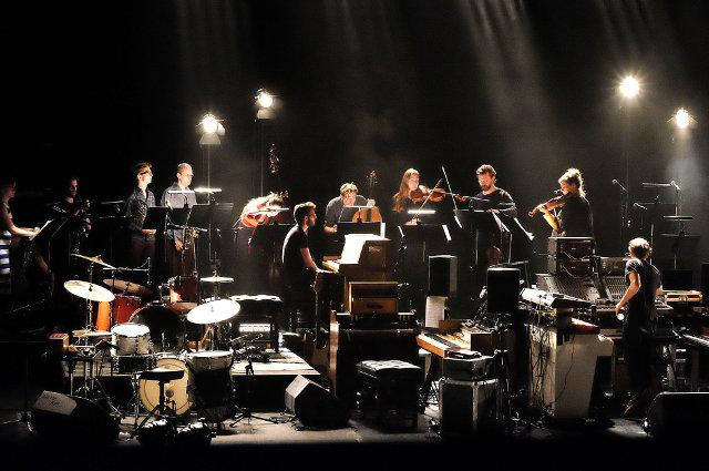 Nils Frahm with Stargaze Ensemble