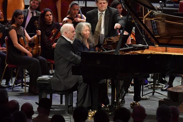 Daniel Barenboim & Martha Argerich(Photo: Chris Christodoulou)