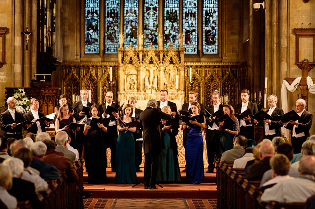 Harry Christophers & The Sixteen(Photo: Simon Jay Price)