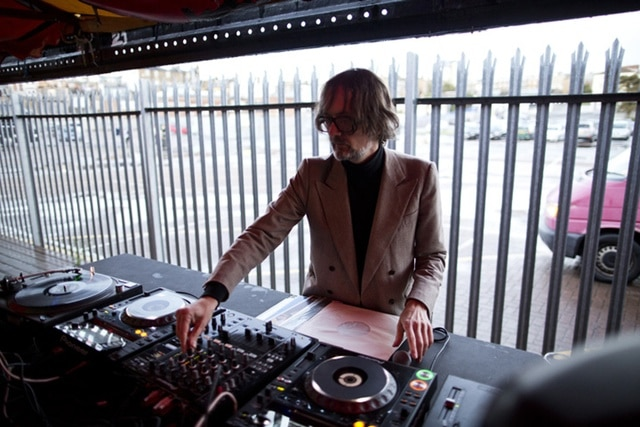 Jarvis Cocker, DJing at the Dreamland dodgems, By The Sea 2016