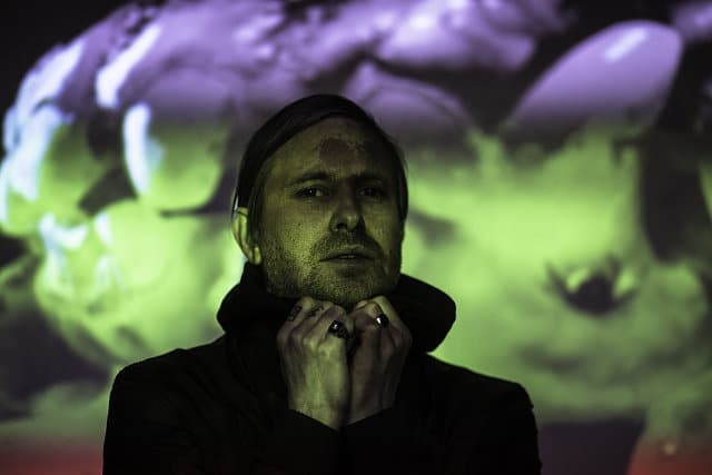 Blanck Mass, aka Benjamin John Power