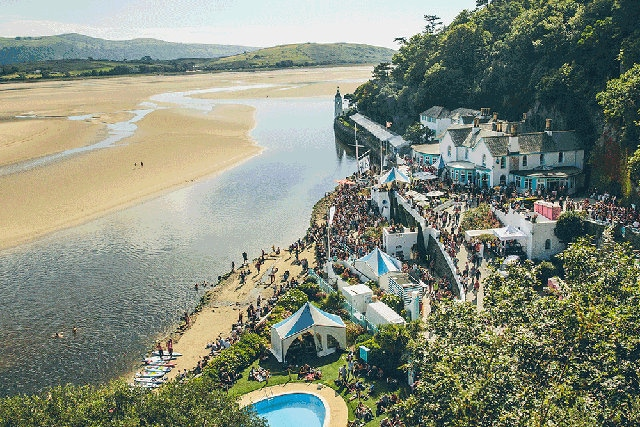 Festival No 6's location, Portmeirion