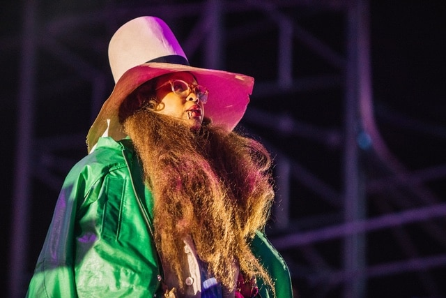 Erykah Badu, live at Field Day 2018