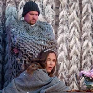 Nicholas Merryweather (Alidor) & Kate Howden (Cinderella)