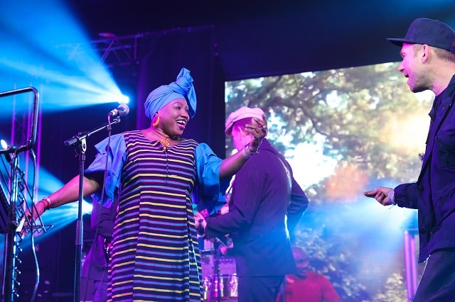 The Good, The Bad & The Queen and Kaladjula Band perform at Africa Express: The Circus