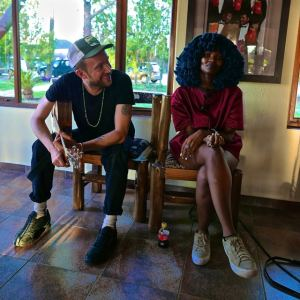 Africa Express: Damon Albarn and Moonchild Sanelly