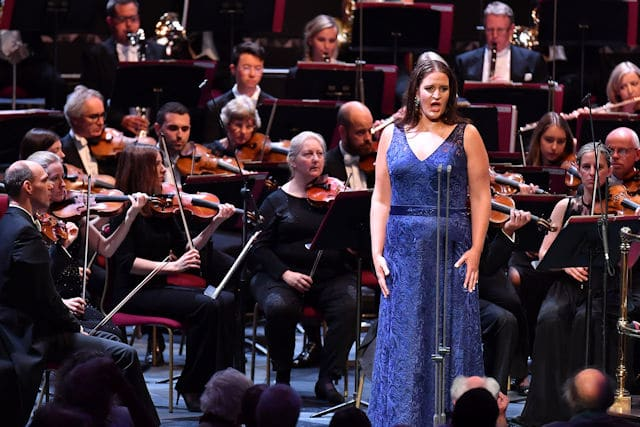 Lise Davidsen at BBC Proms with Esa-Pekka Salonen and Philharmonia Orchestra