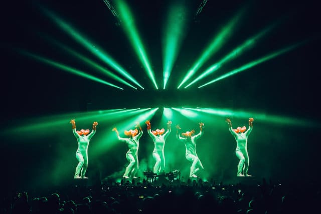 The Chemical Brothers, live at the O2 Arena, London