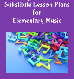 My Go-To Substitute Lesson Plans for Elementary Music - Music on a Cart [ 1102 x 735 Pixel ]