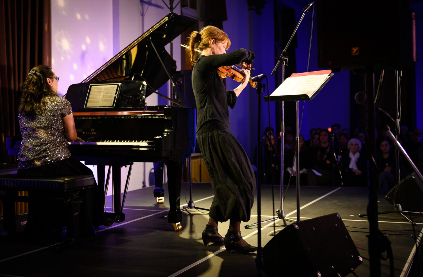 Rachel Kiyo Iwaasa & Karen Gerbrecht, Music for the Winter Solstice 2018
