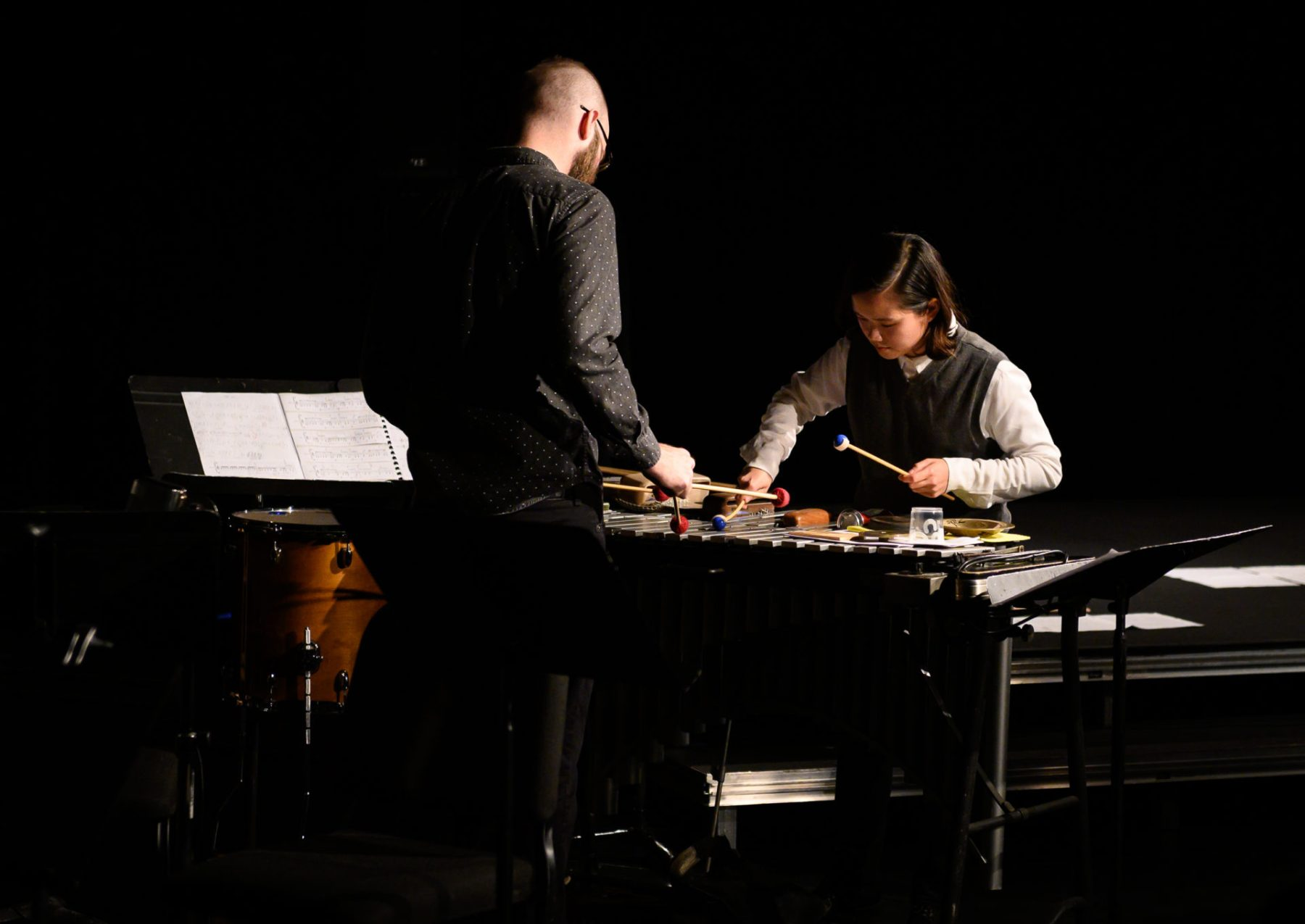 Aaron Graham & Julia Chien at Still Life with Avalanche, Modulus Festival 2019
