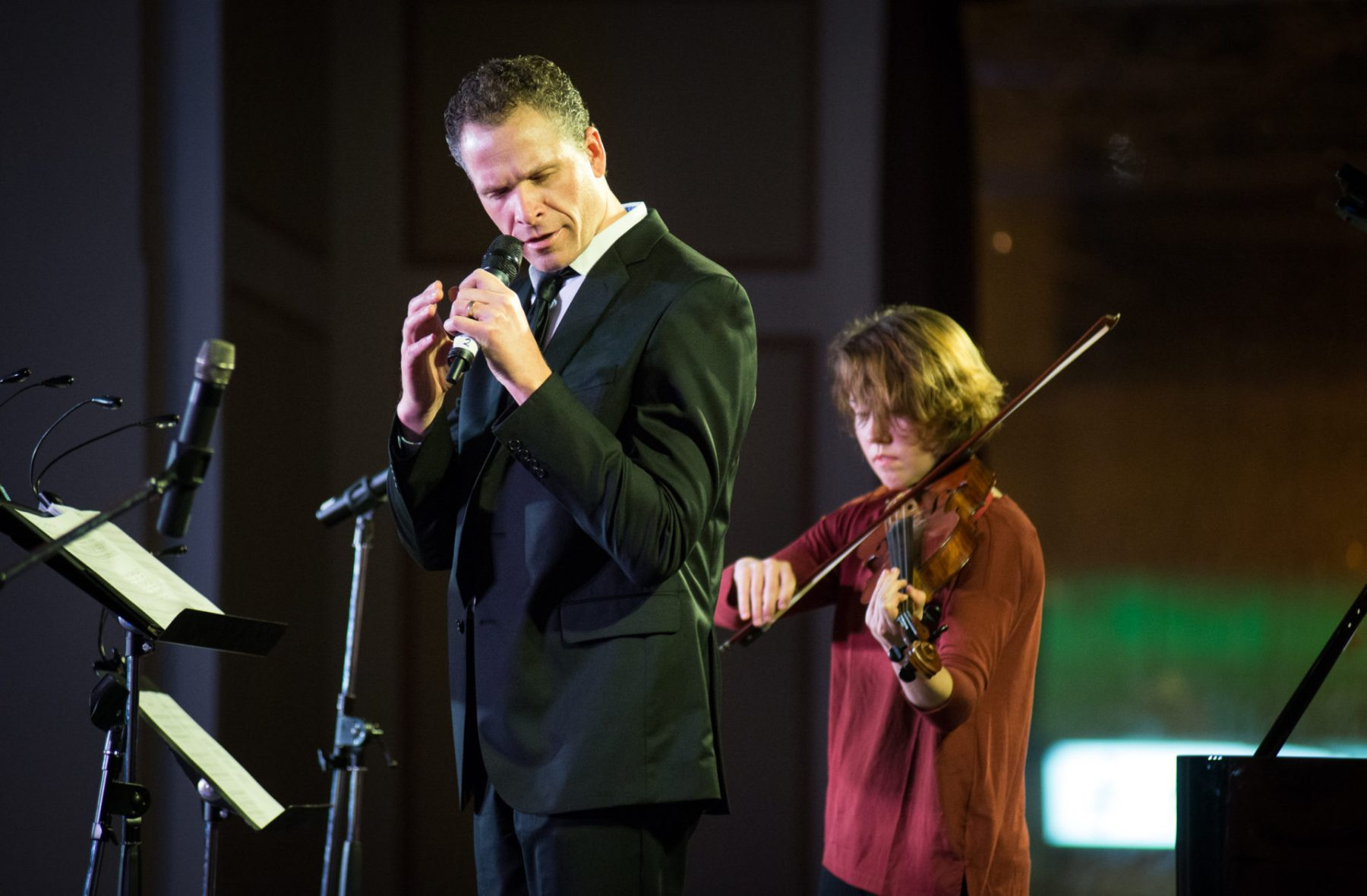 Steve Maddock & Caroline Shaw, Music for the Winter Solstice 2015