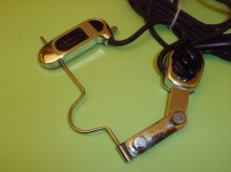 Model 500 Attachable pickup for archtop mandolin.