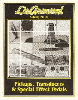 1981 dated catalog, four pages.