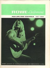 1967/1968 dated Pale green catalog, eight pages